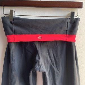 Reversable Grey Lululemon Yoga Pants Sz 4